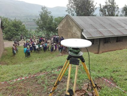 Establishing an Accurate Geodetic Reference Network for Uganda