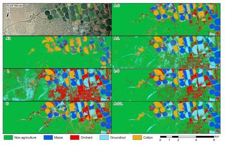 Lidar Crop Classification with Data Fusion and Machine Learning