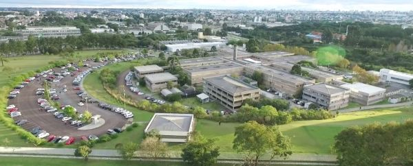 Figure 1: Bird's-eye view of the Centro Politécnico campus in Curitiba, southern Brazil.
