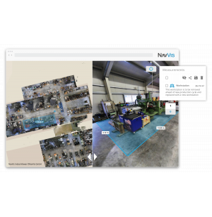 NavVis Adds Virtual Planning and Communication Features to IndoorViewer Software