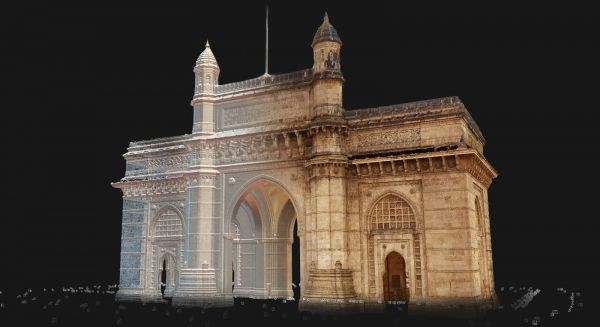 The Gateway of India is a remnant of the country's colonial history and also its resilience. Today, it remains one of the most visited sites in Mumbai. In 2019, CyArk documented the structure using aerial and terrestrial photogrammetry combined with Lidar. The 3D data will be used for further preservation of this iconic structure.