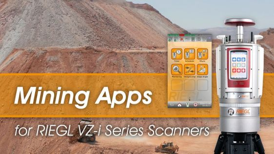 RIEGL Apps: Towards Remote Operation in mining