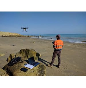 UAV Maps New Zealand Beach to Create Detailed 3D Model