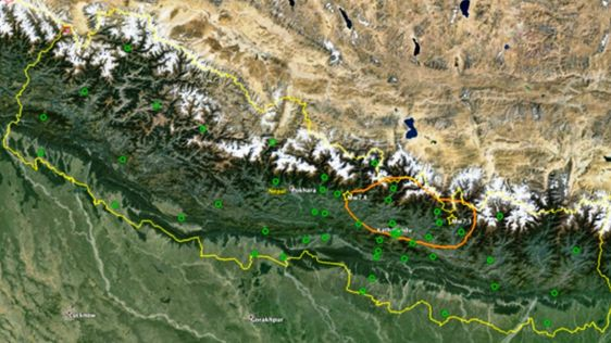 GPS and the 2015 Gorkha Earthquake