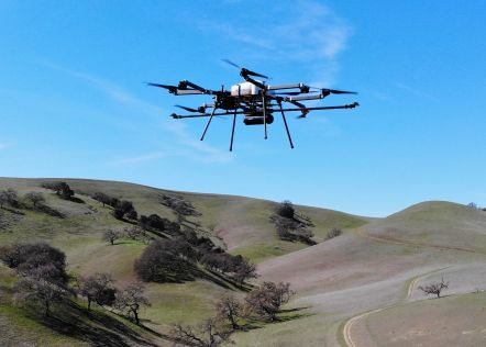 Longer Flight Times Make UAV Lidar Surveys More Efficient