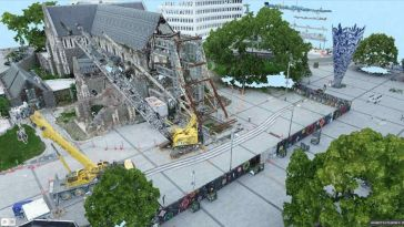 Rebuild Ready: 3D Mapping of a Quake-damaged Cathedral