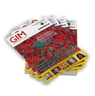 covers of gim international magazine