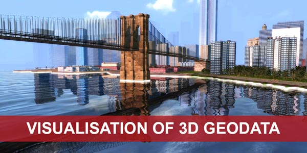 Go to the theme page Visualisation of 3D Geodata