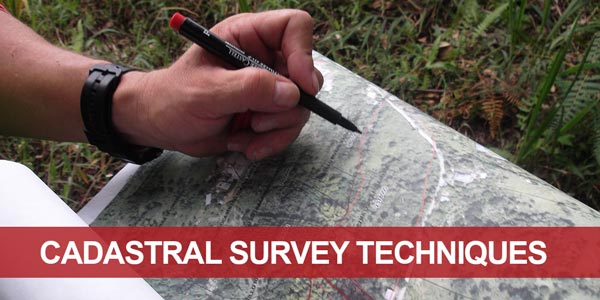 Go to the theme page Cadastral Survey Techniques
