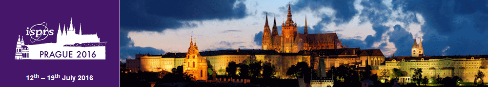 The location of the ISPRS 2016 - Prague Castle