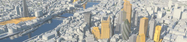 Image of 3D model of London