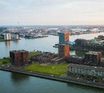 The port of Rotterdam, The Netherlands